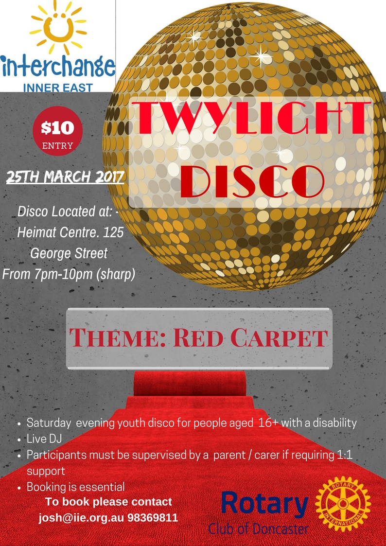Twylight Disco march 2017